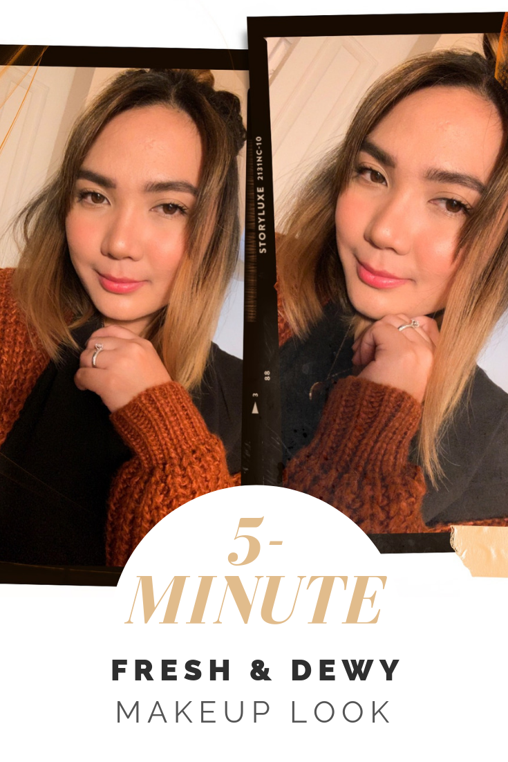 5-Minute Fresh and Dewy Makeup Look