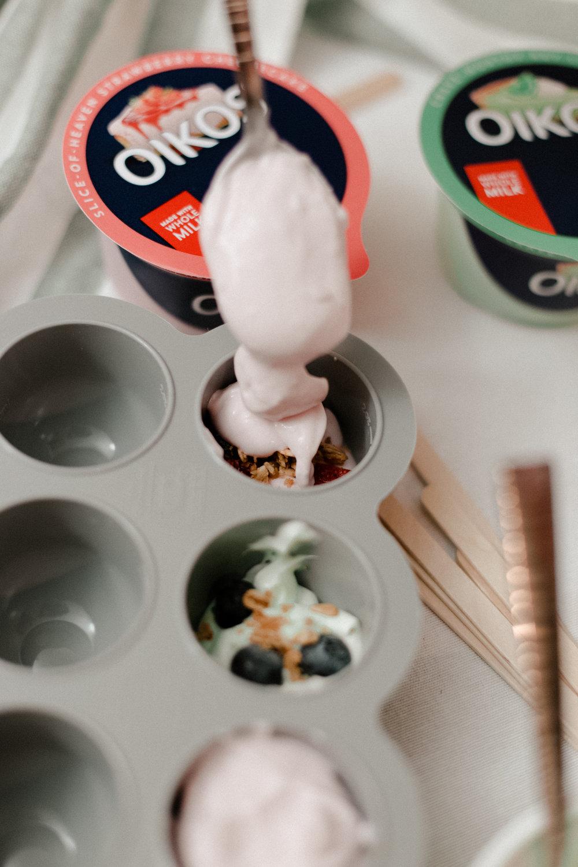 Easy Yogurt Popsicle Recipe