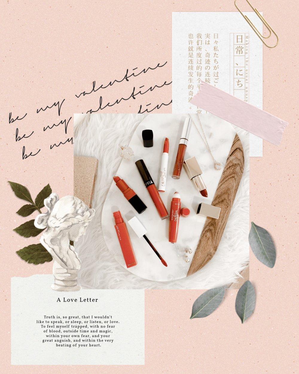 Red Lipsticks for Valentine's Day
