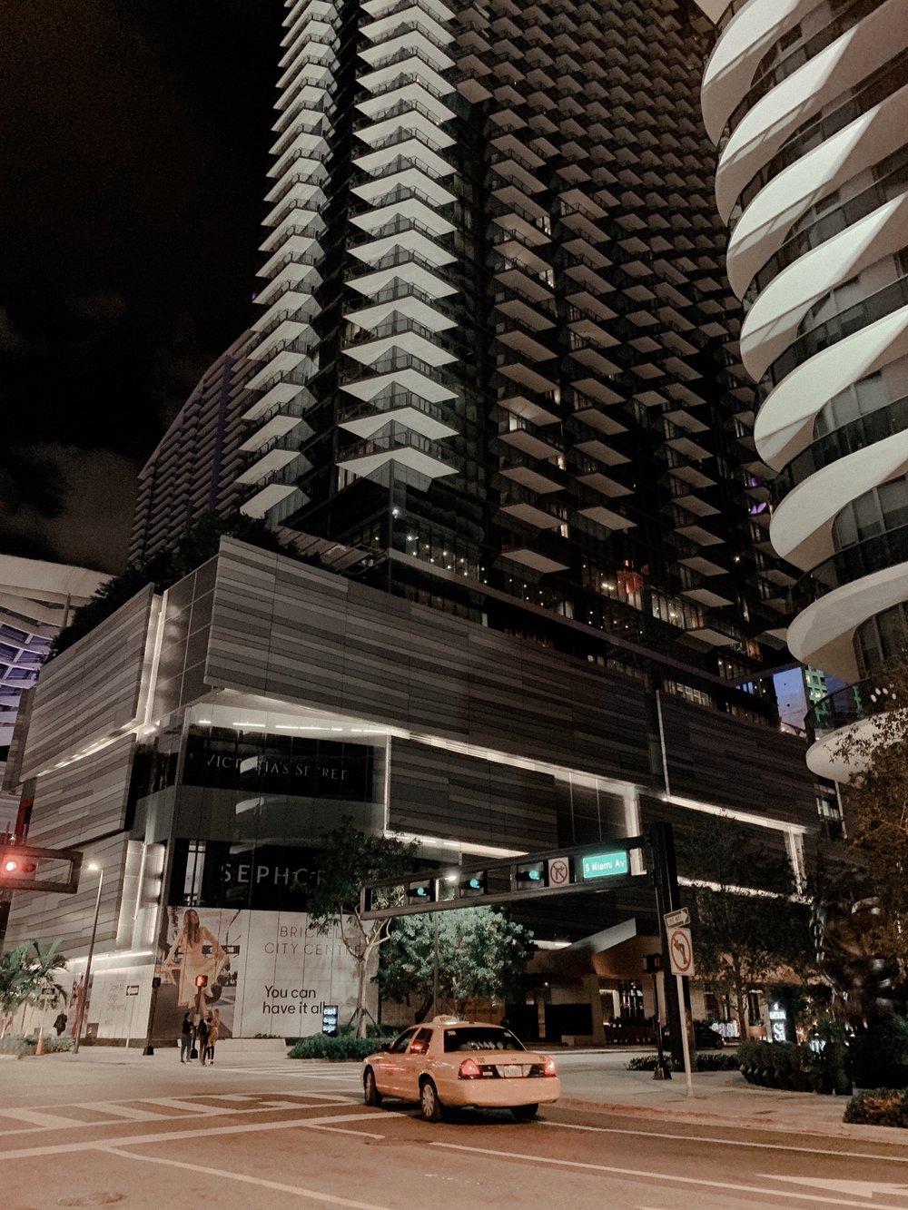 Our First Night in Miami - Brickell City Centre
