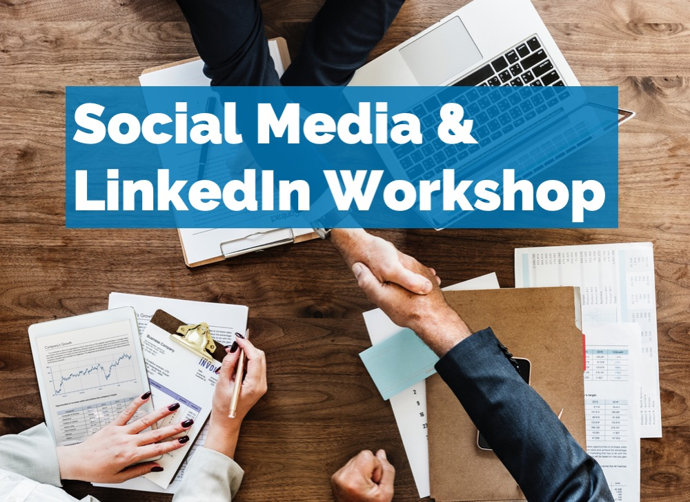 We will be having how to optimize your job search by using job boards and social media, such as LinkedIn.  Please bring your laptop for the workshop and please sign up  here  if you would like to attend.    Social Media & LinkedIn Workshop  Date: Tuesday, October 23rd  Time: 5:30 pm - 7:30 pm  Location: DEUTZ (INSTITUTE OF THE AMERICAS)