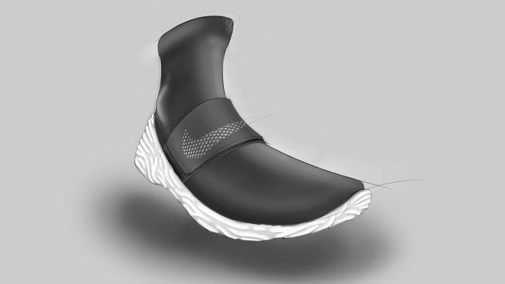 Nike sock runner concept
