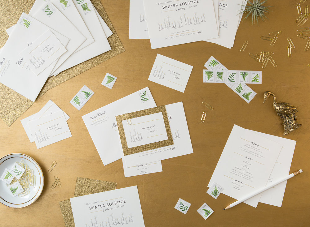 Invitations with Envelopes