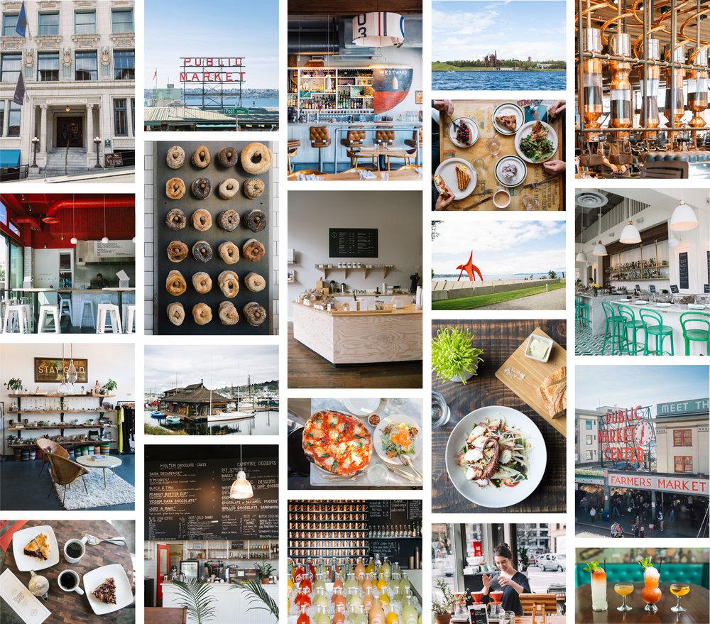 Seattle Places Photo Grid