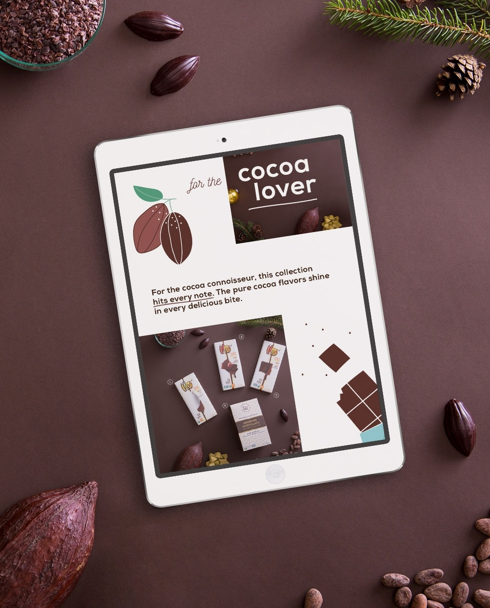 Theo Chocolate Website - GRAPHIC & WEB DESIGN, PHOTOGRAPHY