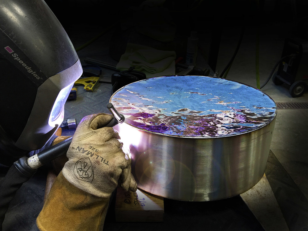 "Basin (16"") in Fabrication"