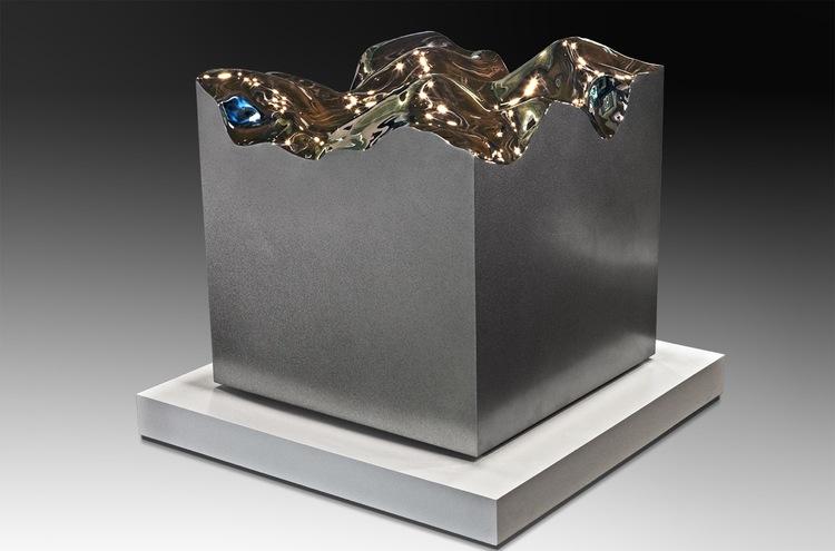 Cauldron  High Chromium Stainless Steel  30 x 30 x 30 inches 2015