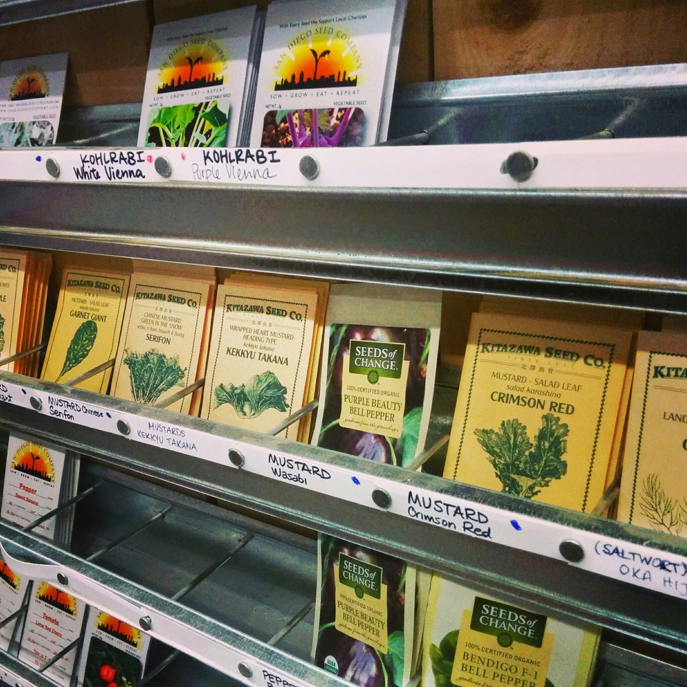 ORGANIC SEED PACKETS