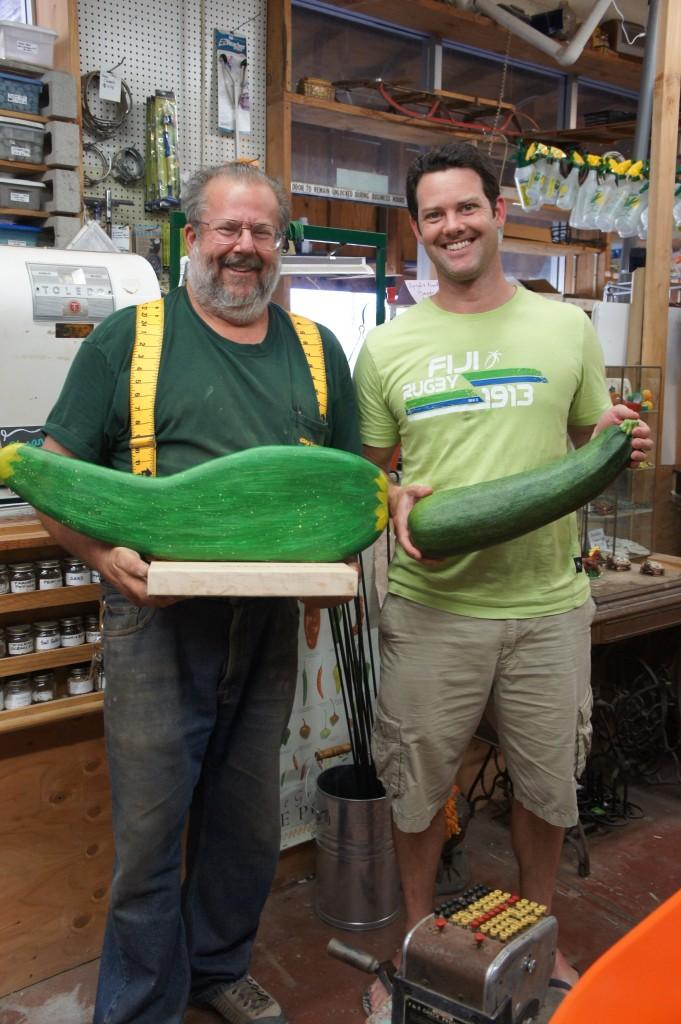 Organic zucchini seeds