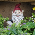 Our garden gnome knows you will find magical inspiration here!