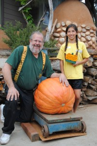 Congratulations, Emi! We don't come by 82-pound pumpkins every day.