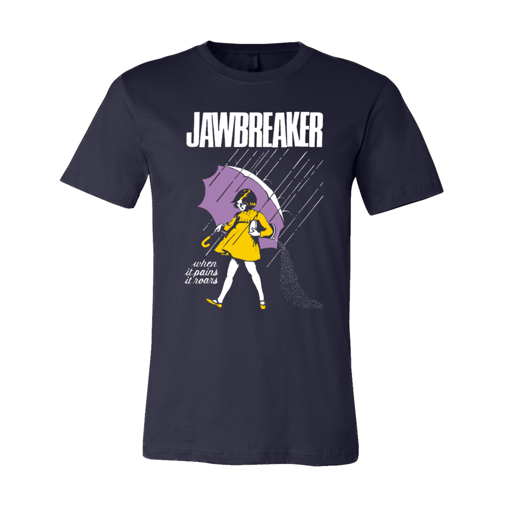 76deb1f9b8af Salt Girl Navy Blue T-Shirt — JAWBREAKER