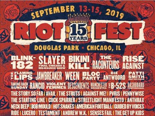 Jawbreaker @Riot Fest - Douglass Park Chicago, IL