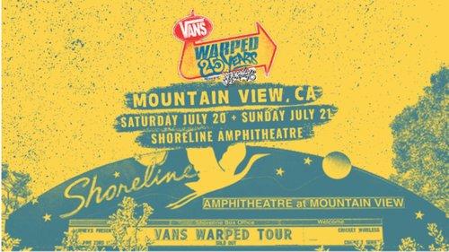 Jawbreaker @Van's Warped Tour - Shoreline Amphitheater, Mountain View, CA