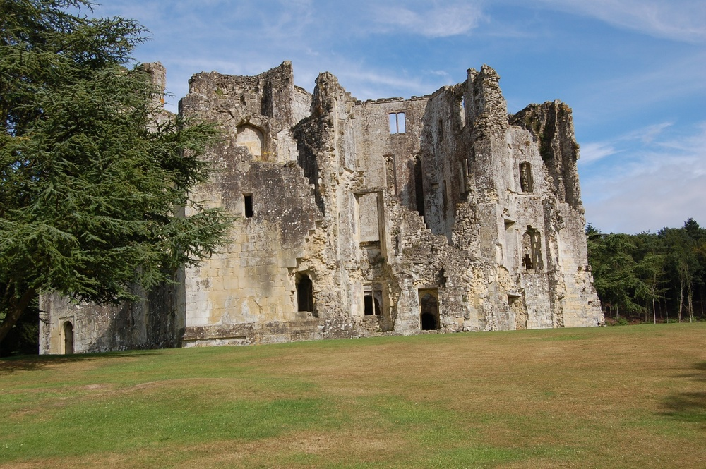 England Guided Walks & Gardens, Old Wardour Castle, Great Circle Route (9529)