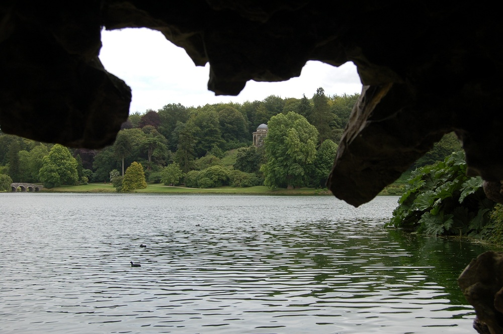 England Guided Walks & Gardens, Stourhead in August, Great Circle Route (9680)
