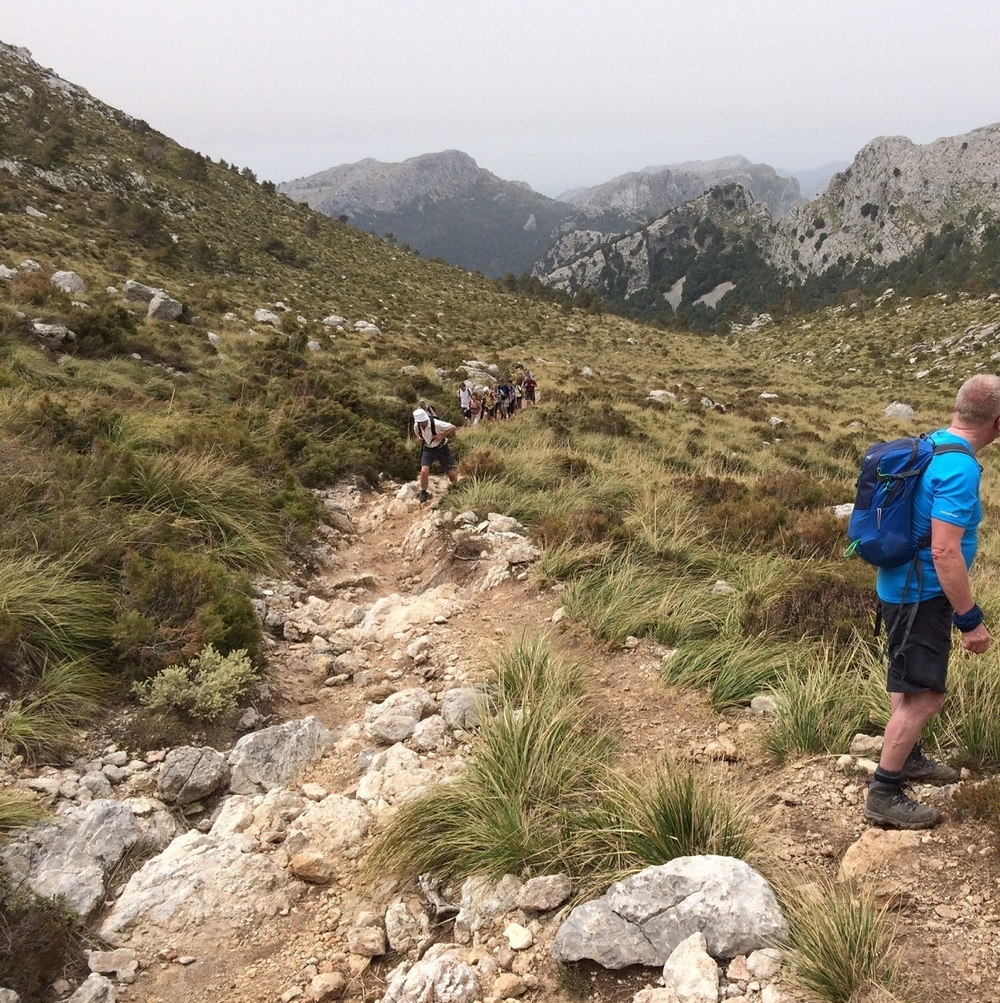 Great Circle Route, Mallorca Walks to Lluc Monastery (DES-2015)