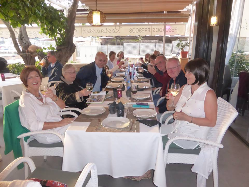 Great Circle Route, Mallorca Walks Dinner