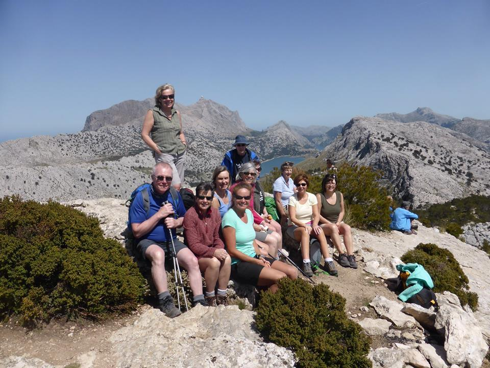 Great Circle Route, Mallorca Walks, L'Ofre Summit (SHWH2015)