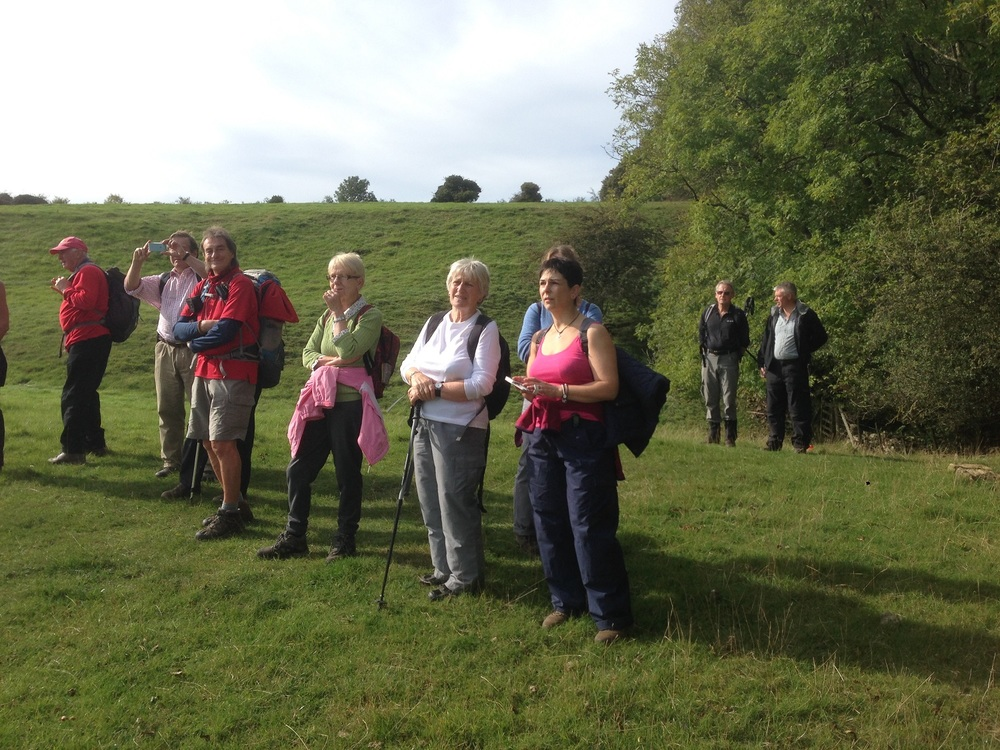 Cotswold Guided Walks, Pondering, Great Circle Route