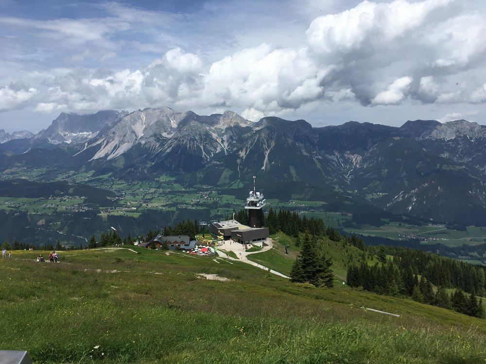 Great Circle Route, Austria Guided Walks, Planai
