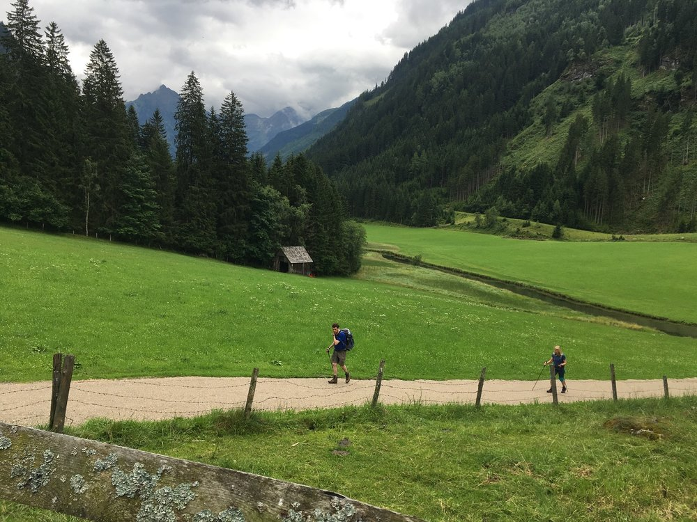 Great Circle Route, Austria Guided Walks