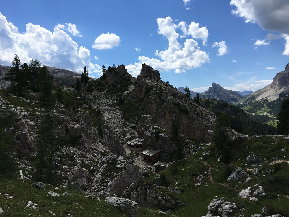 Great Circle Route, World War I Remnants, Dolomites Walks