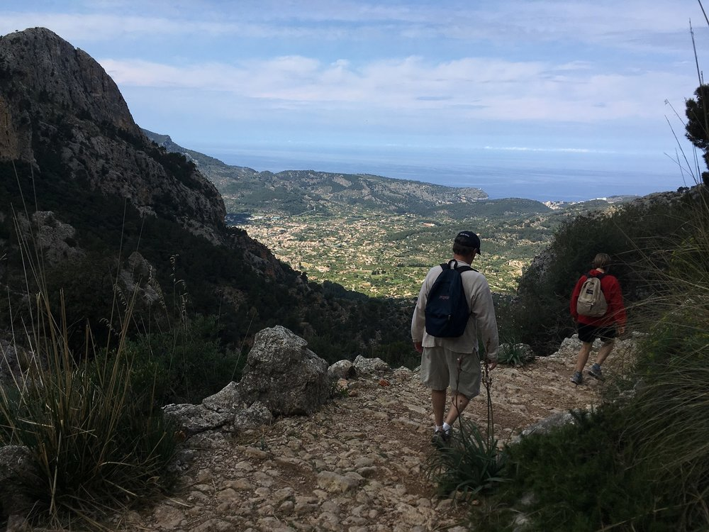 Pilgrim Trail through the Biniaraix Gorge, Great Circle Route, Mallorca Walks