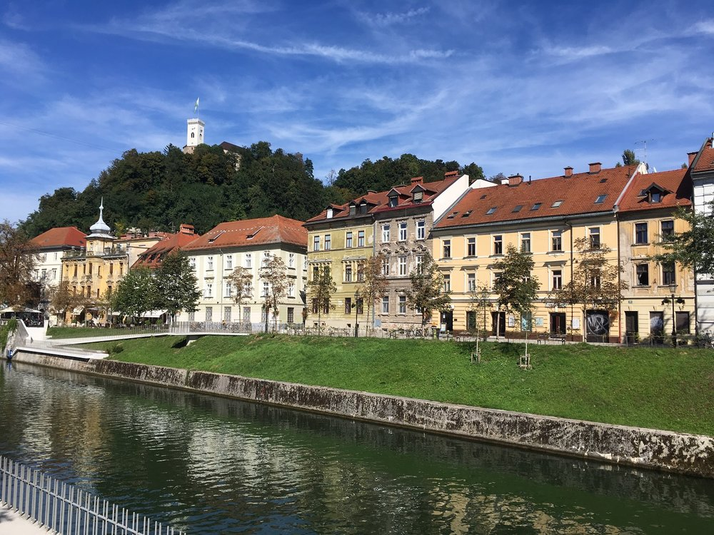 Great Circle Route, Ljubljana, Slovenia Walks