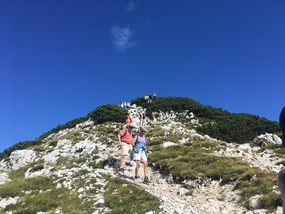 Slovenia Walks, Great Circle Route