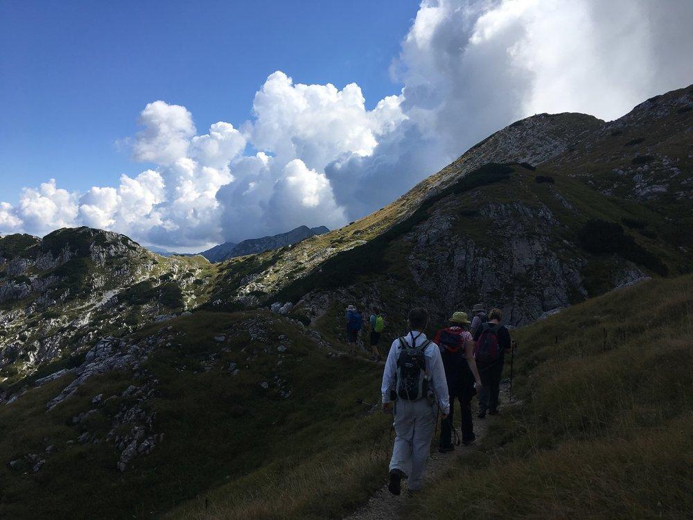 Great Circle Route, Secret Hills, Slovenia