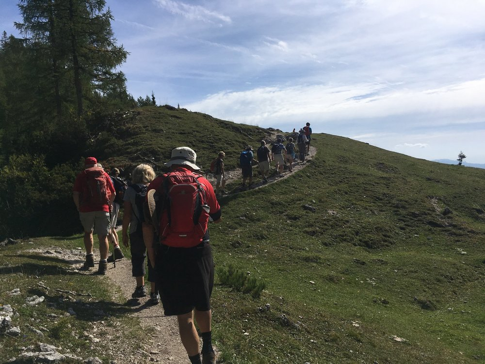 Great Circle Route, Slovenia Walks