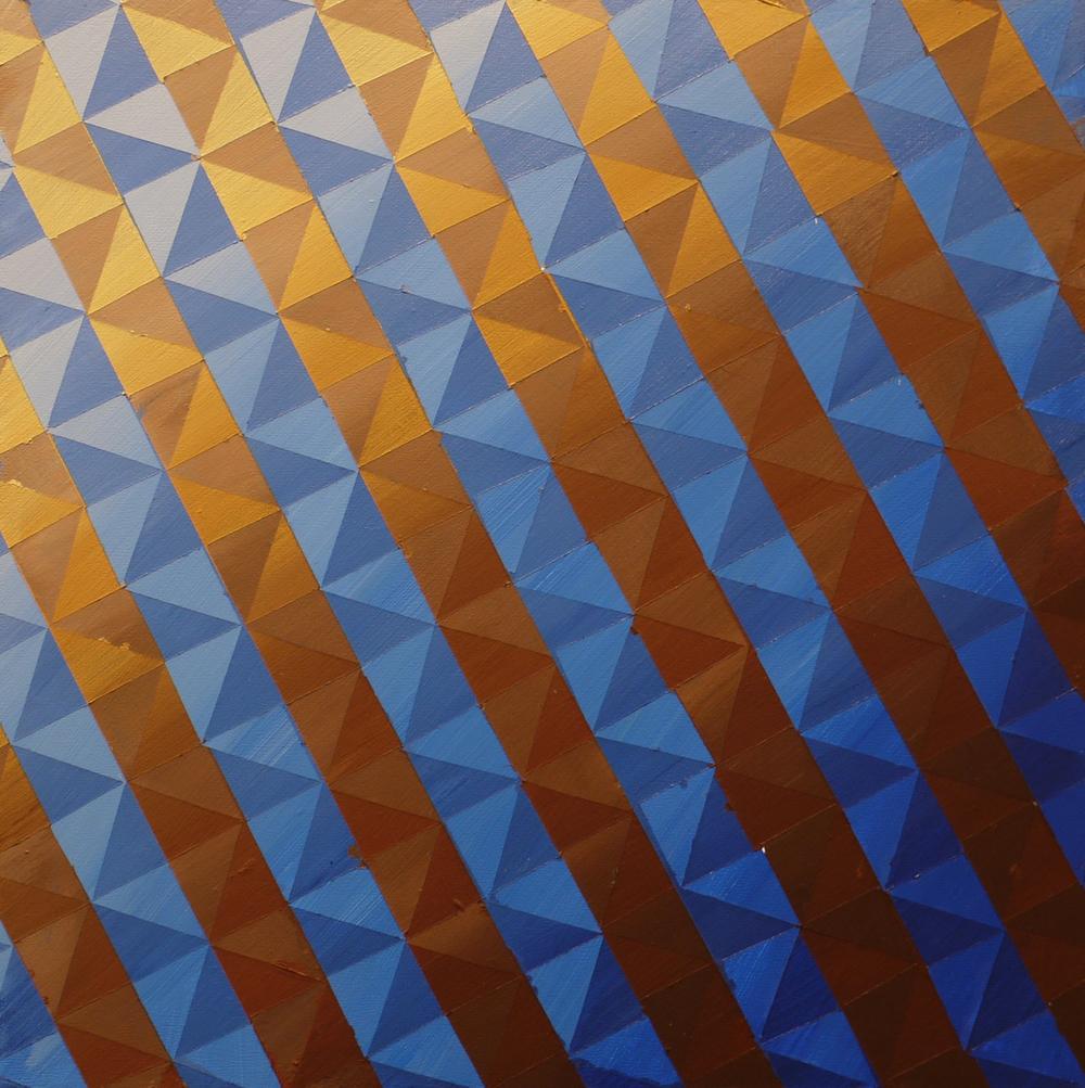 """#59 (2014) Acrylic on Panel 12""""x12"""""""