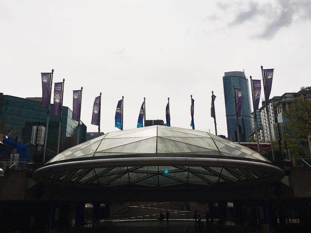 half-shell  (at UBC Robson Square)