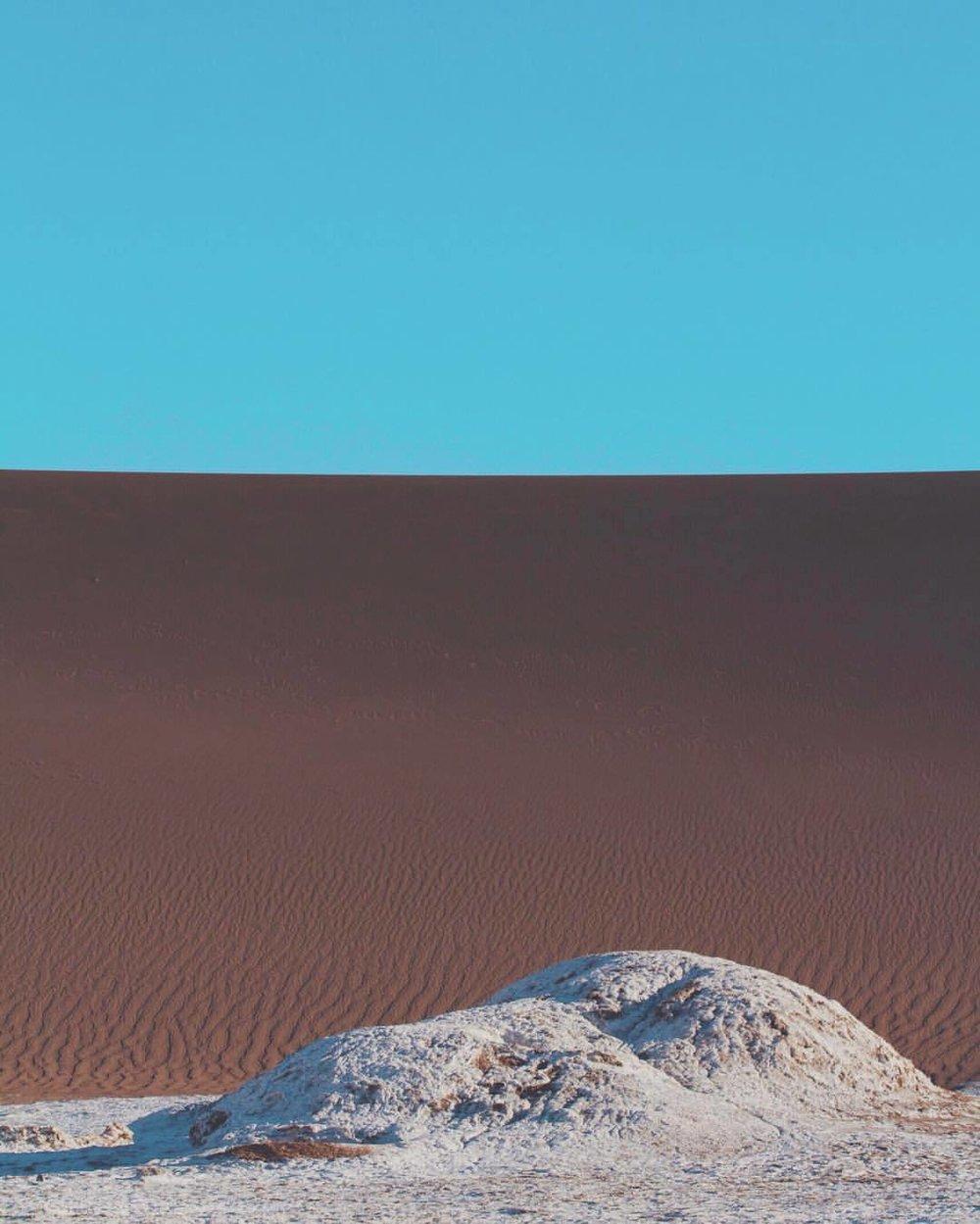 deep desert blue (at San Pedro de Atacama, Chile)