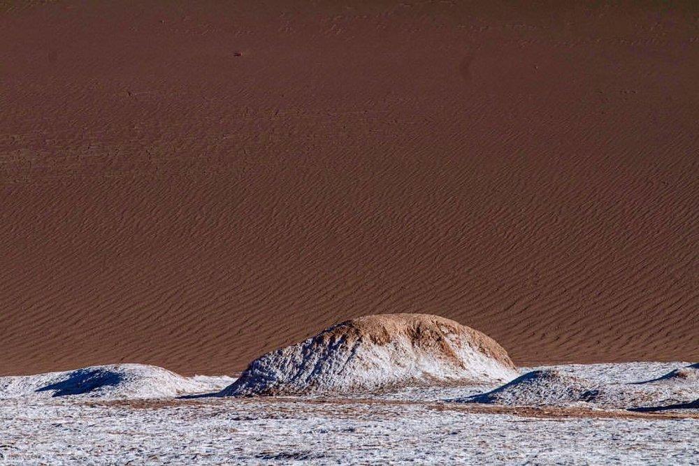 different islands in a different ocean (at San Pedro de Atacama, Chile)