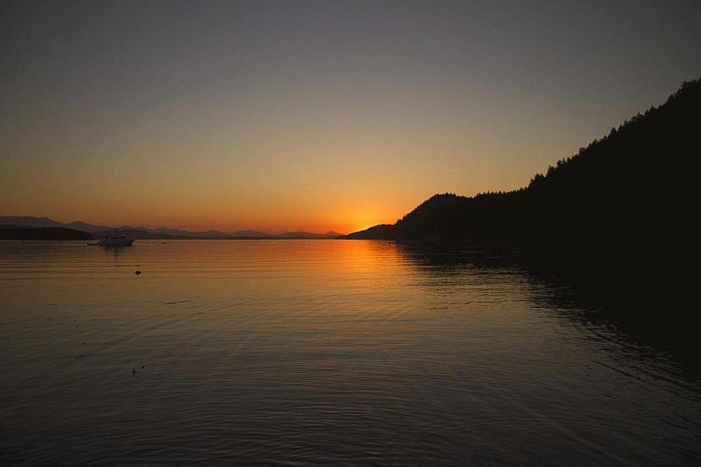 quiet (at Galiano Island, British Columbia)