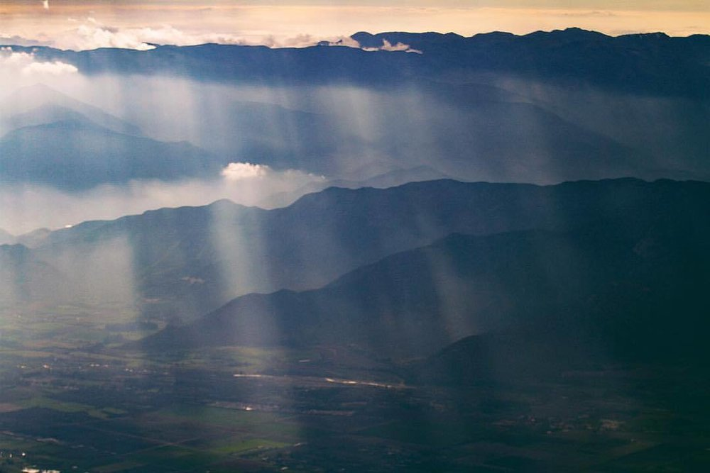layers and layers of rays and rays