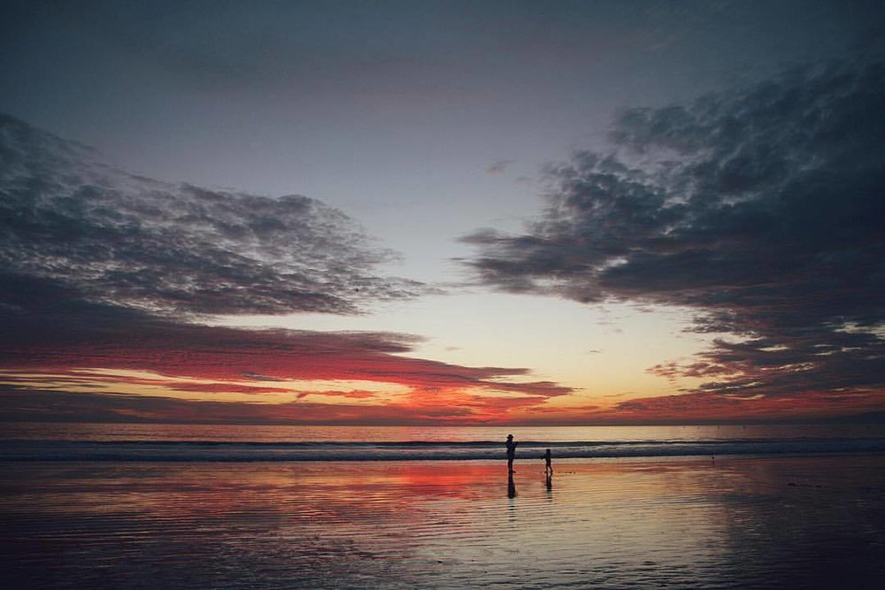 I love sunsets on the golden coast (at Santa Monica, California)