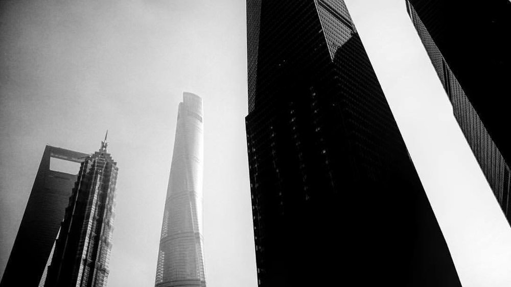 always, ever upward (at Shanghai World Financial Center)