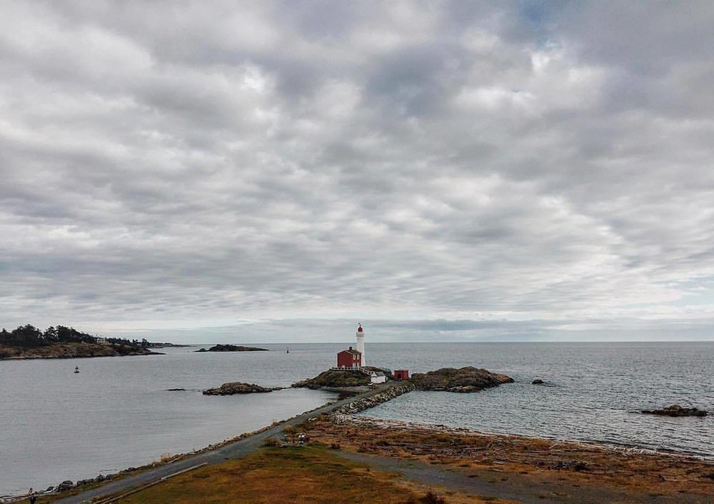 Horizonal. (at Fisgard Lighthouse National Historic Site)