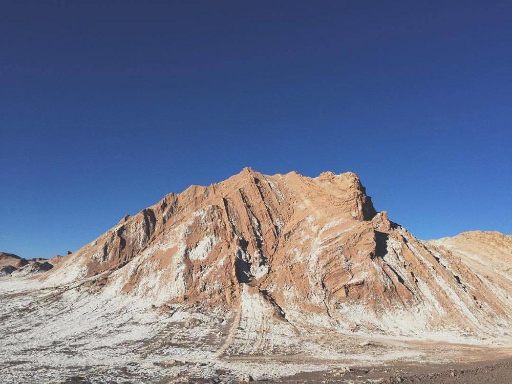 The deep relationship between ground and sky. (at San Pedro De Atacama, Norte De Chile)