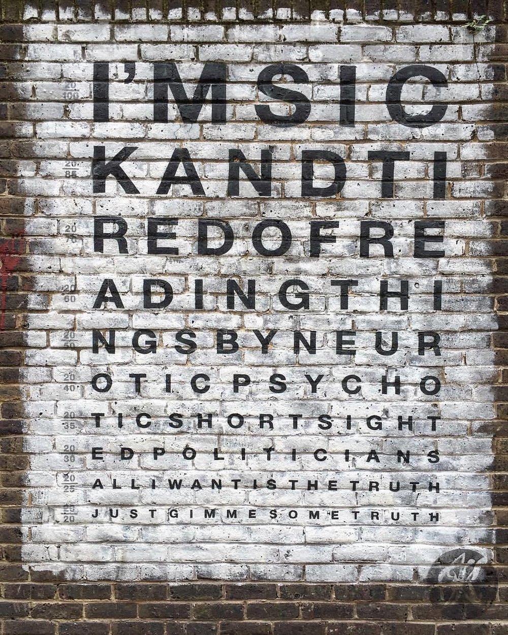 Word. (at Brick Lane Market)