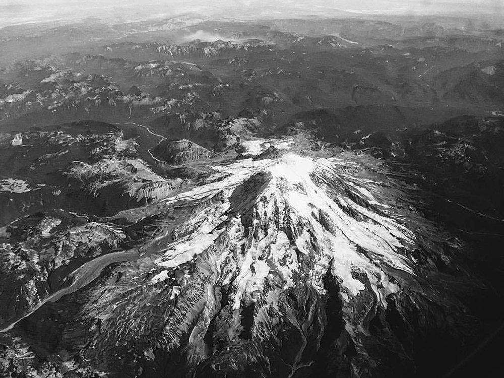 Majestic Mt. Rainier. (at Mount Rainier National Park)