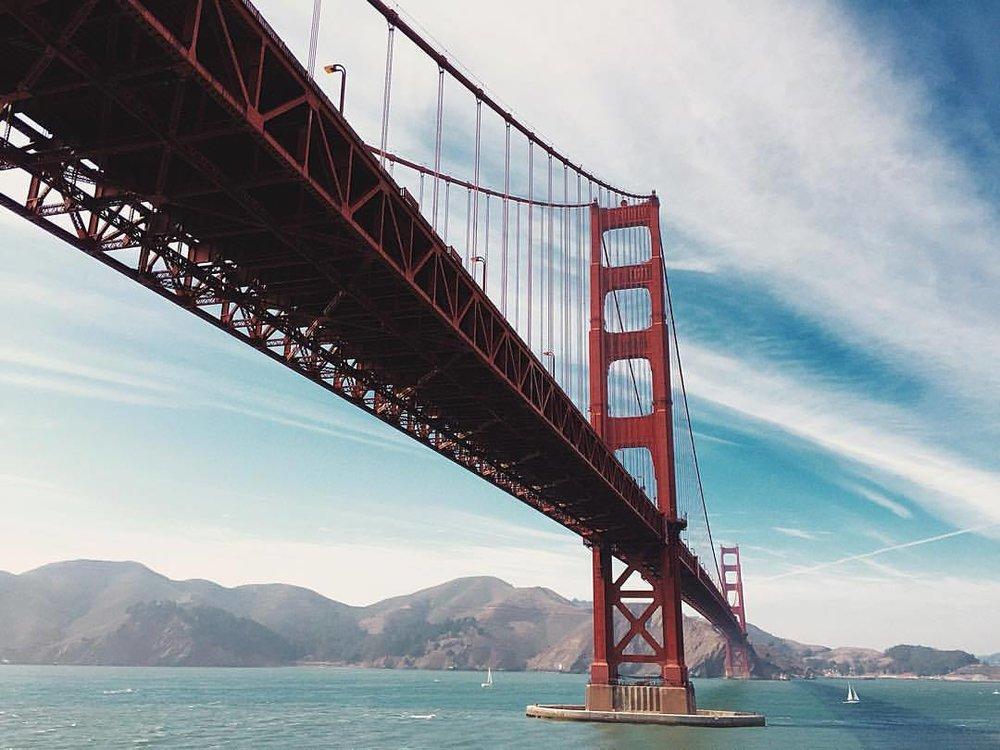 The Big Stretch. (at Golden Gate Bridge)