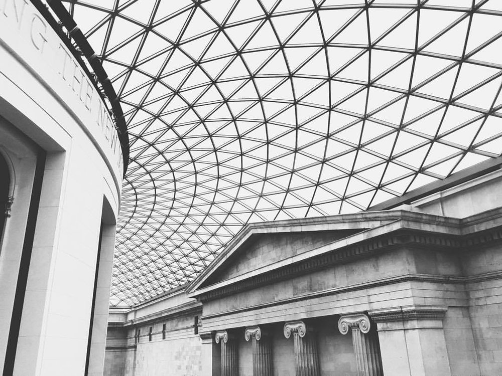 Classically modern. (at British Museum)
