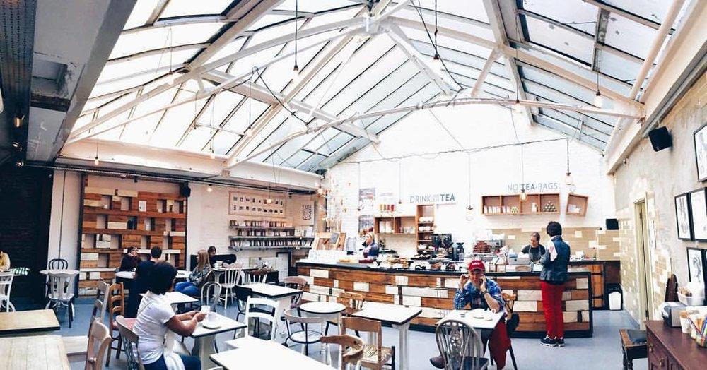 One of my favourite tea rooms in London. (at Yumchaa Tottenham Street)