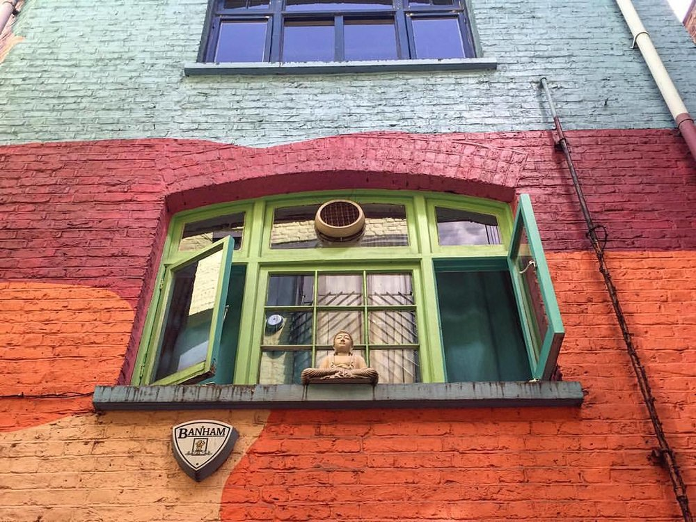 Someone to watch over me. (at Neal's Yard)