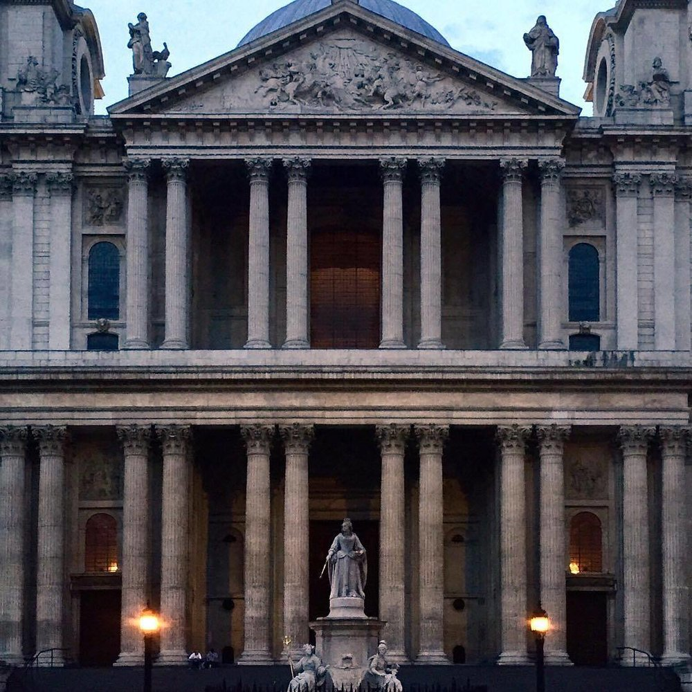 Wren. Baroque. London. (at St. Paul's Cathedral)