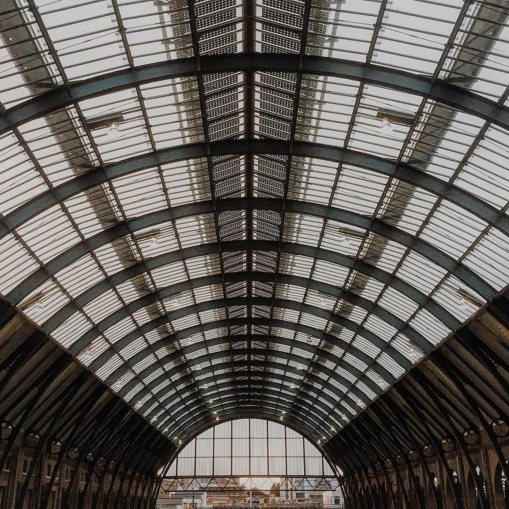 Structure. #TPSExtreme @thephotosociety  (at London King's Cross Station)